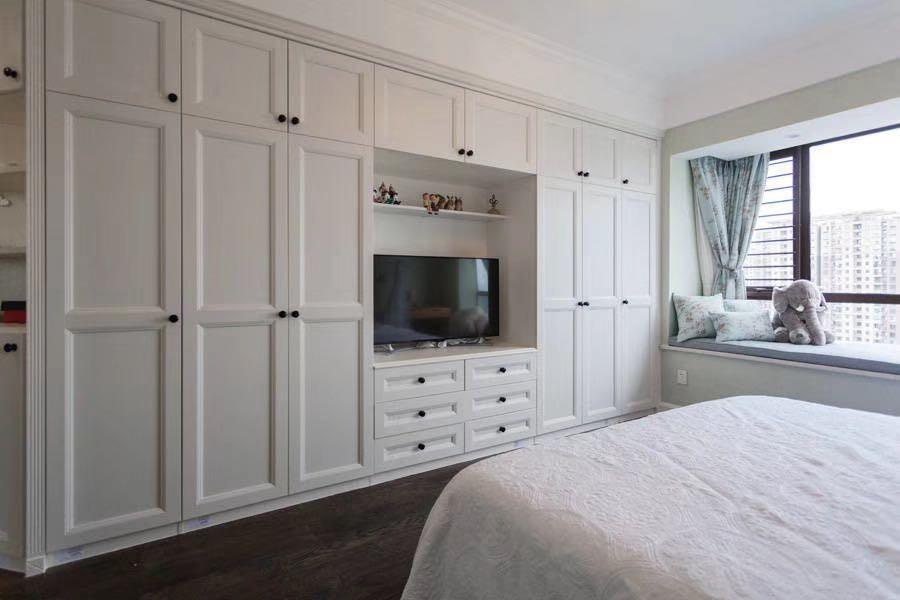 2021美式起居室装修设计 2021美式衣柜图片