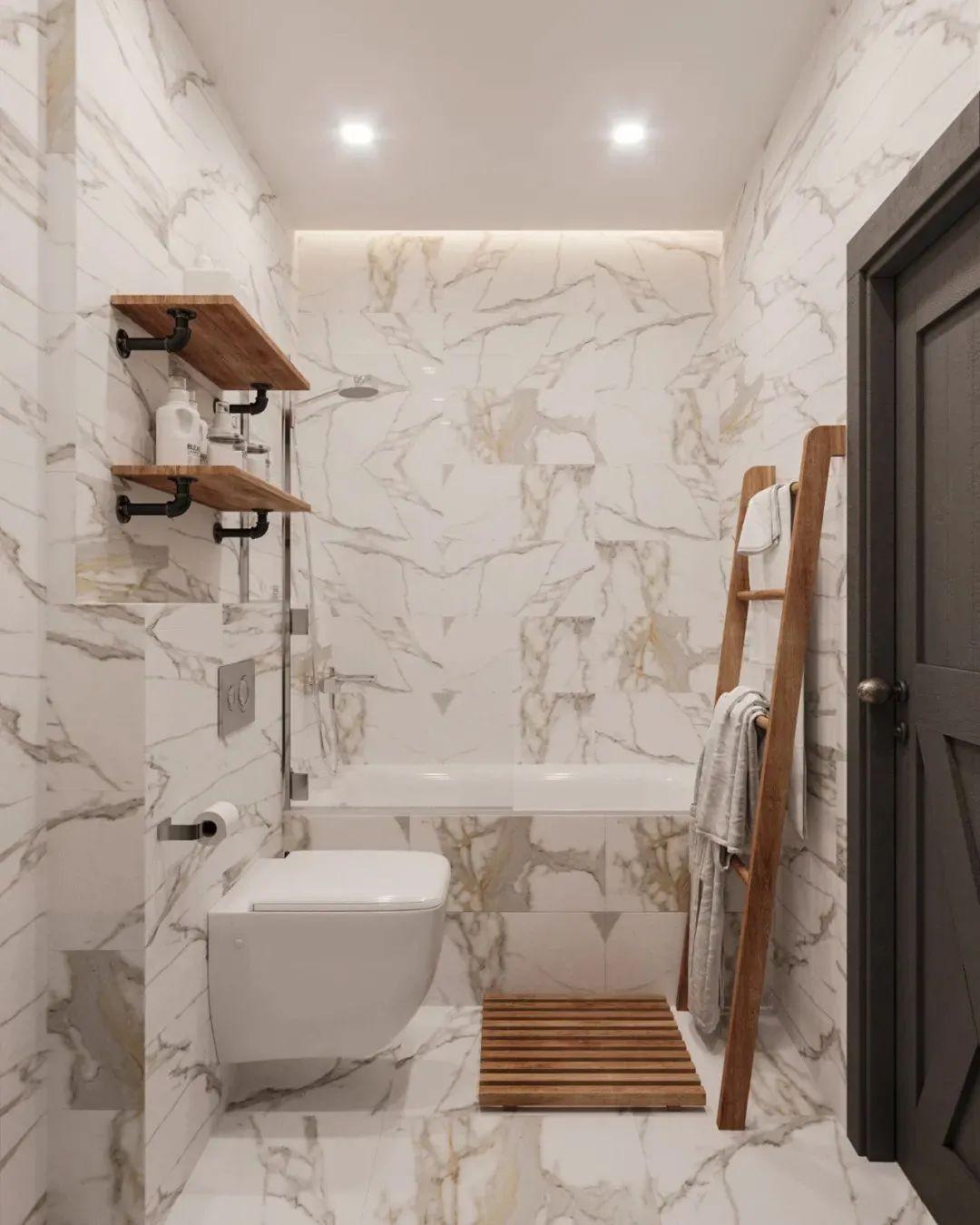 2021工业浴室设计图片 2021工业浴缸装修效果图大全