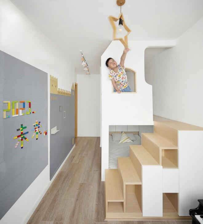 2021日式儿童房装饰设计 2021日式楼梯设计图片