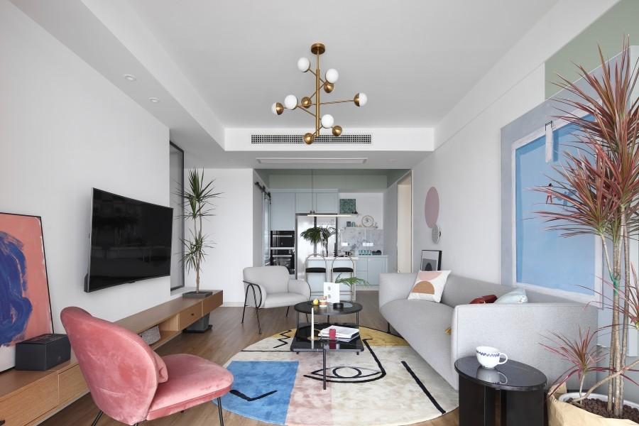 2021宜家110平米装修设计 2021宜家二居室装修设计