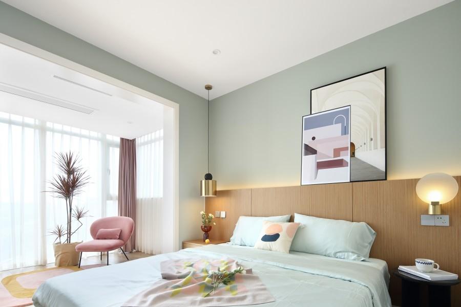 2021宜家卧室装修设计图片 2021宜家背景墙装饰设计