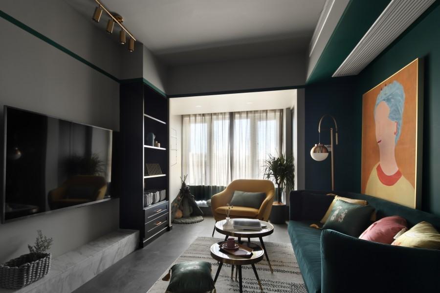 2021混搭70平米设计图片 2021混搭一居室装饰设计