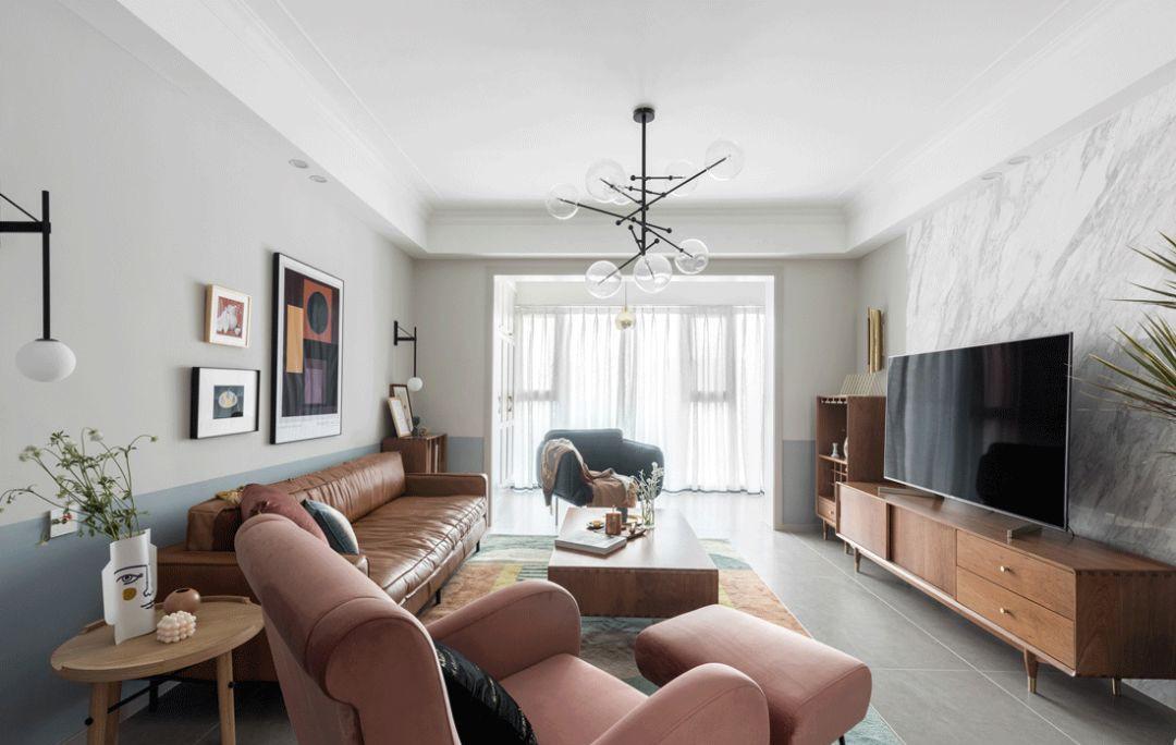 2021宜家150平米效果图 2021宜家三居室装修设计图片