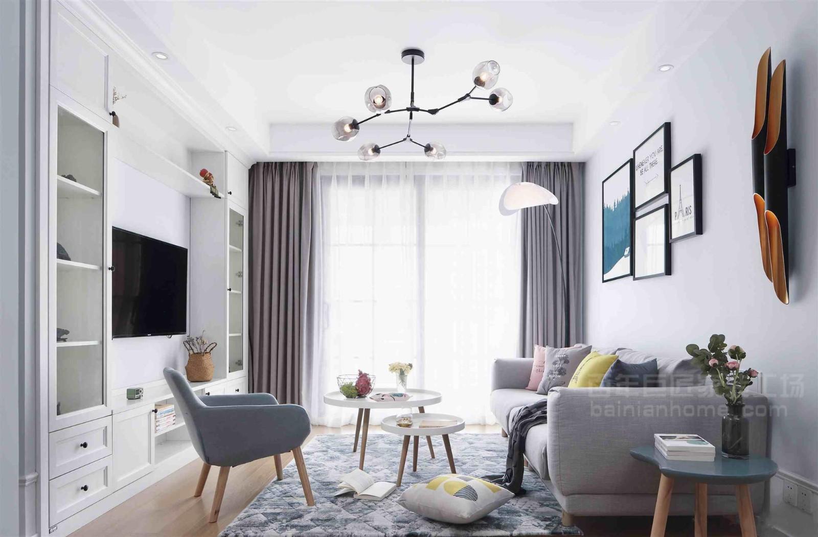 2021北欧90平米装饰设计 2021北欧二居室装修设计