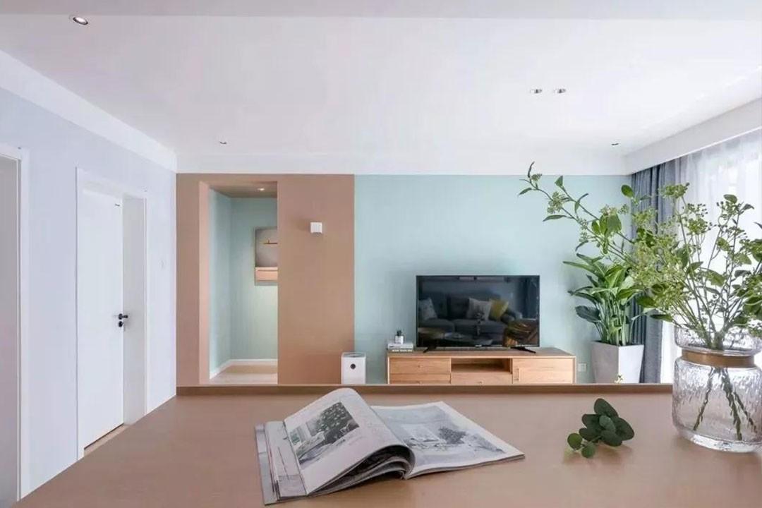 2021北欧客厅装修设计 2021北欧推拉门装修设计图片