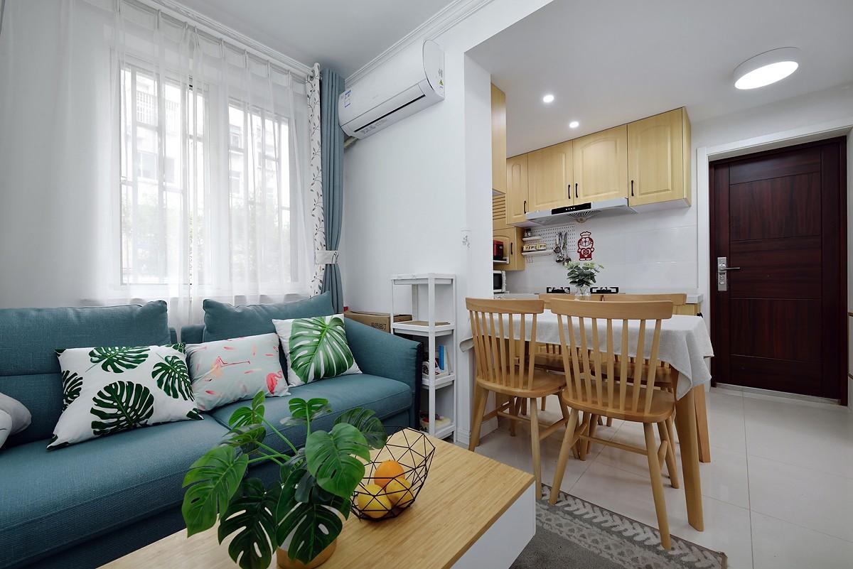 2021北欧70平米设计图片 2021北欧一居室装饰设计