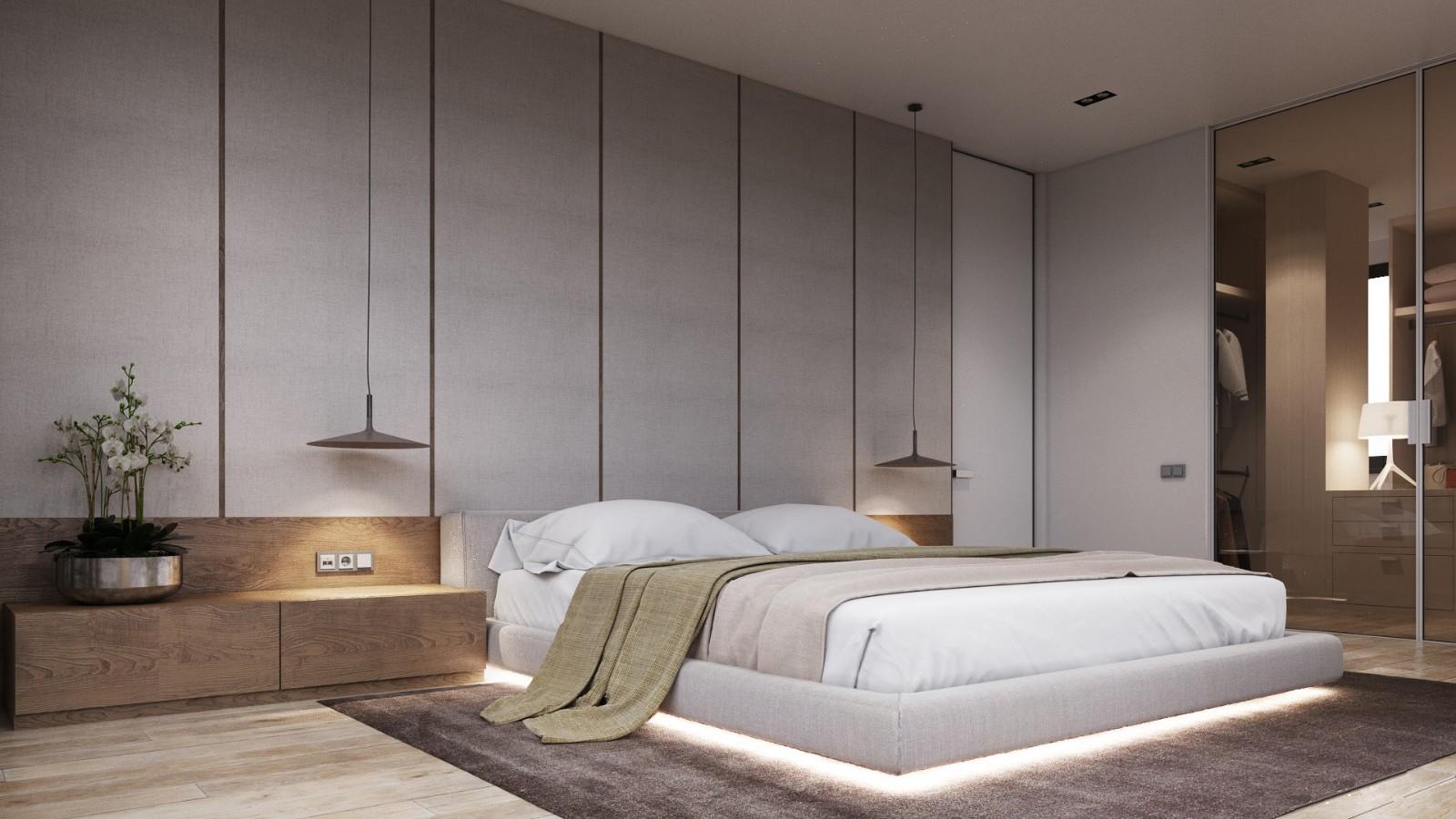 2021田园卧室装修设计图片 2021田园床图片