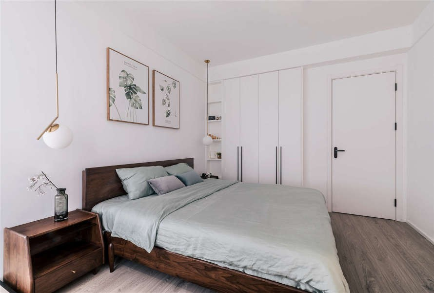 2021宜家卧室装修设计图片 2021宜家衣柜装修效果图片