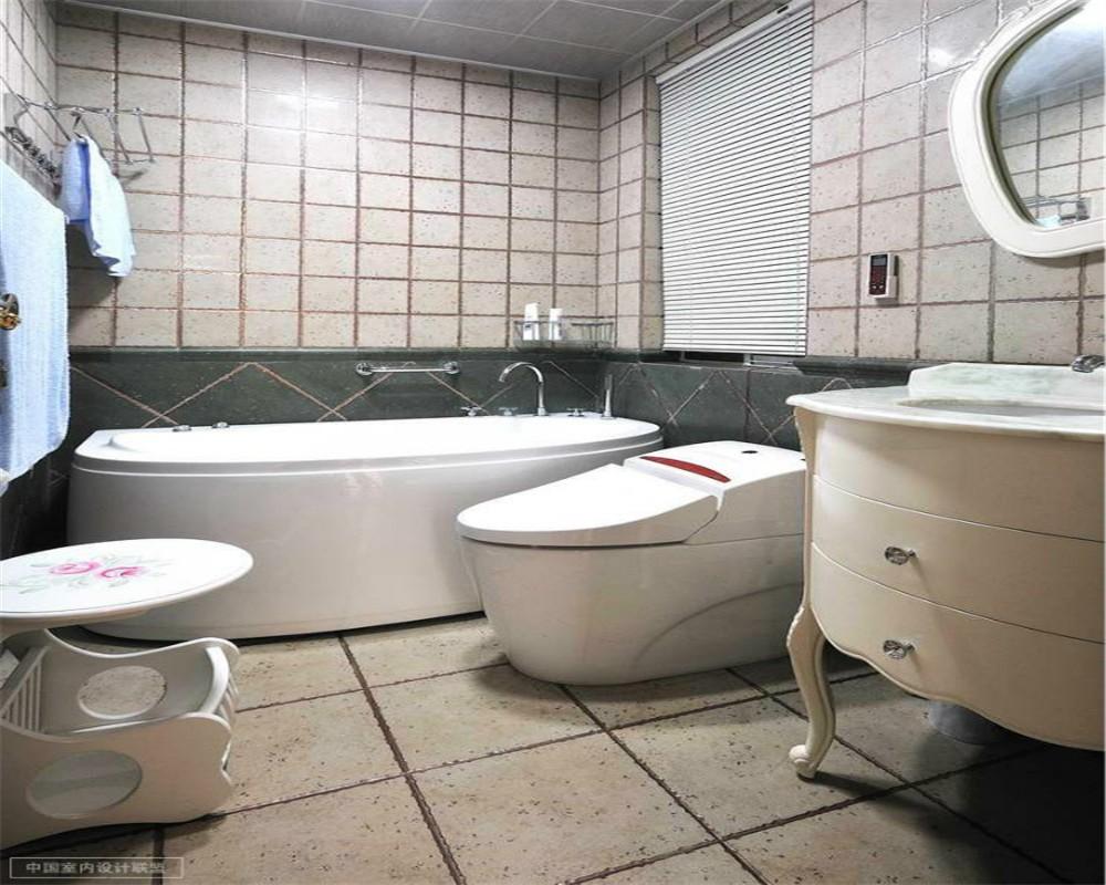 2021简欧卫生间装修图片 2021简欧浴缸装修设计