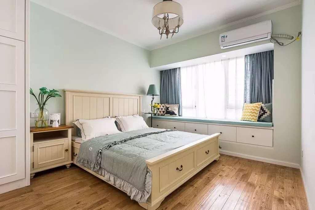 2021美式卧室装修设计图片 2021美式窗台装修设计图片
