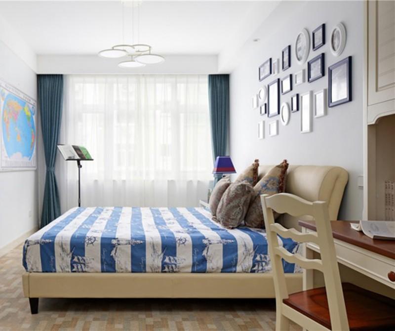 2021新古典儿童房装饰设计 2021新古典照片墙装修图片