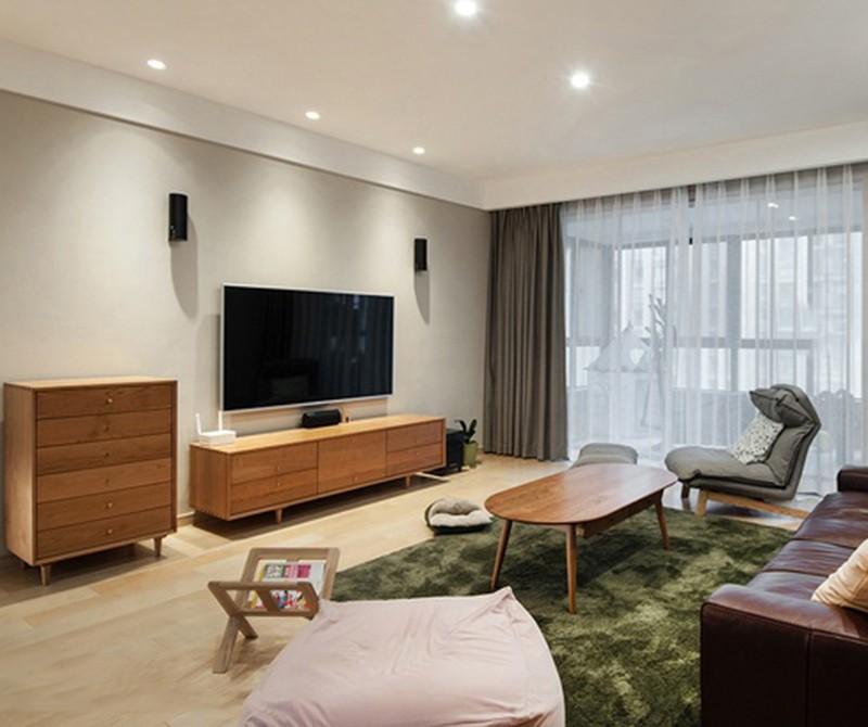 2021简单客厅装修设计 2021简单背景墙图片