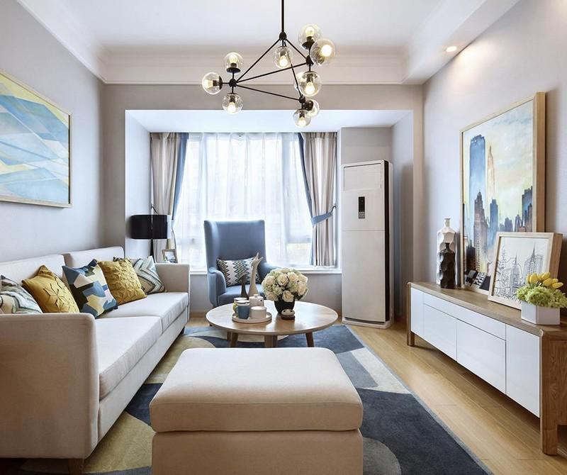 2021简约70平米设计图片 2021简约一居室装饰设计