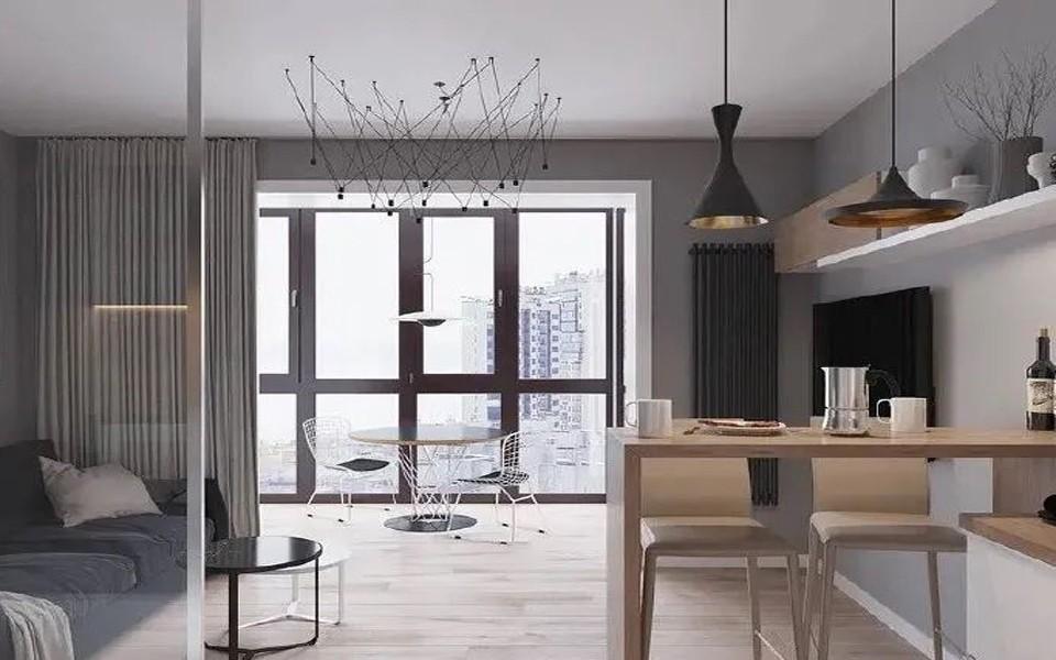 2021现代简约客厅装修设计 2021现代简约灯具图片