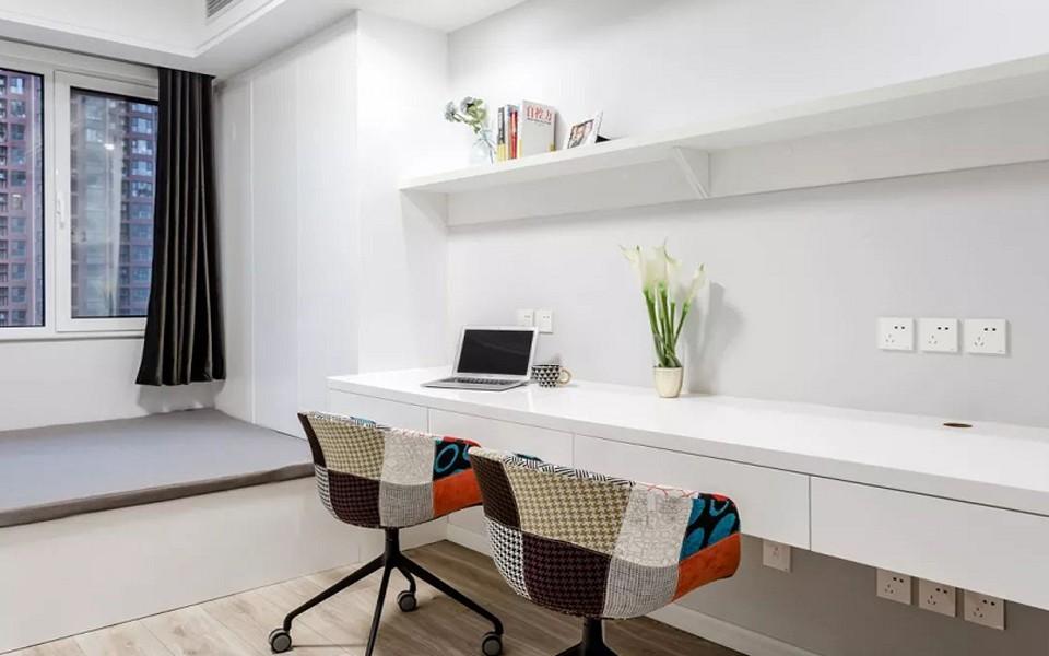 2021现代简约卧室装修设计图片 2021现代简约窗台装修设计图片