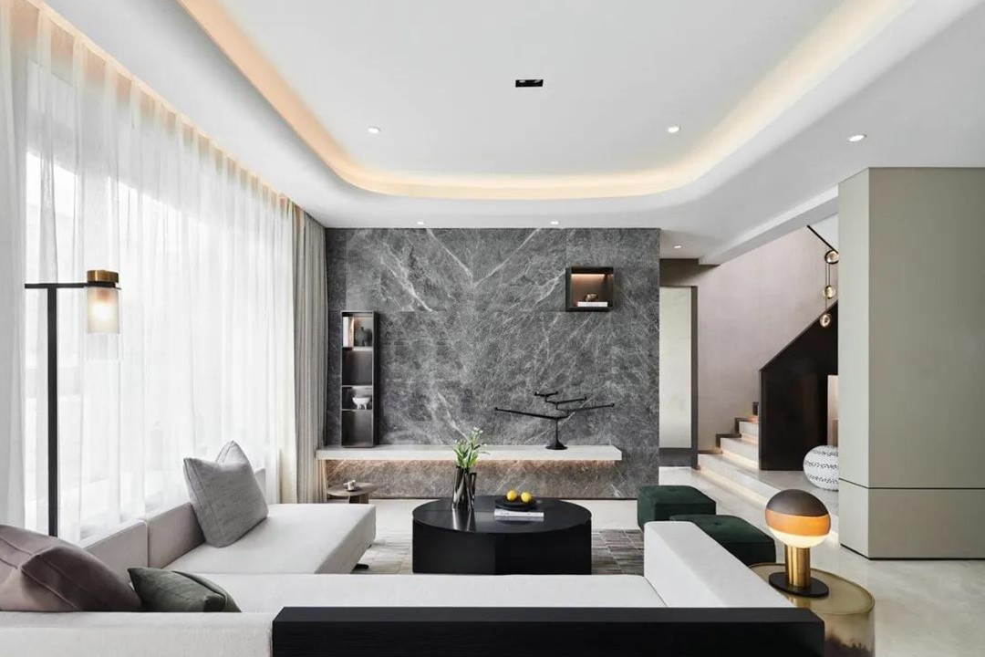 180m2现代简约丨个性时尚的华丽,温馨舒适好惬意!