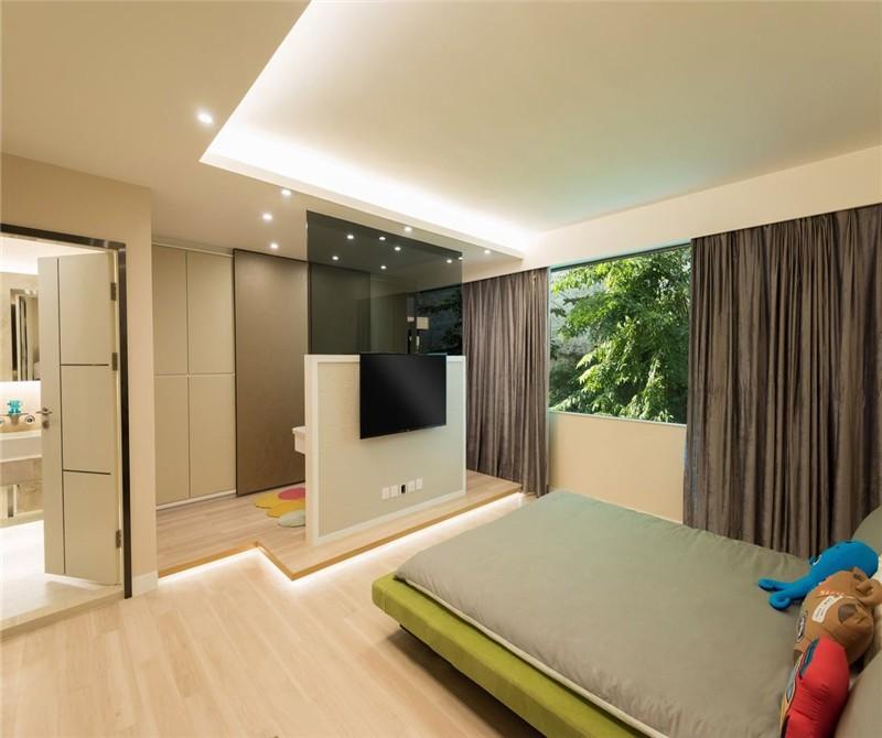 2021简约卧室装修设计图片 2021简约窗帘装修图