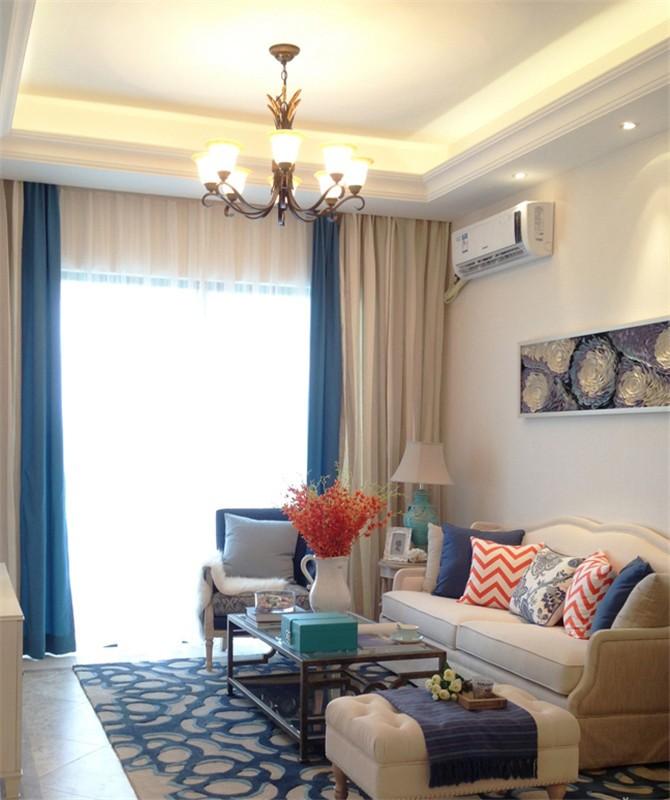 2021地中海客厅装修设计 2021地中海背景墙装修设计