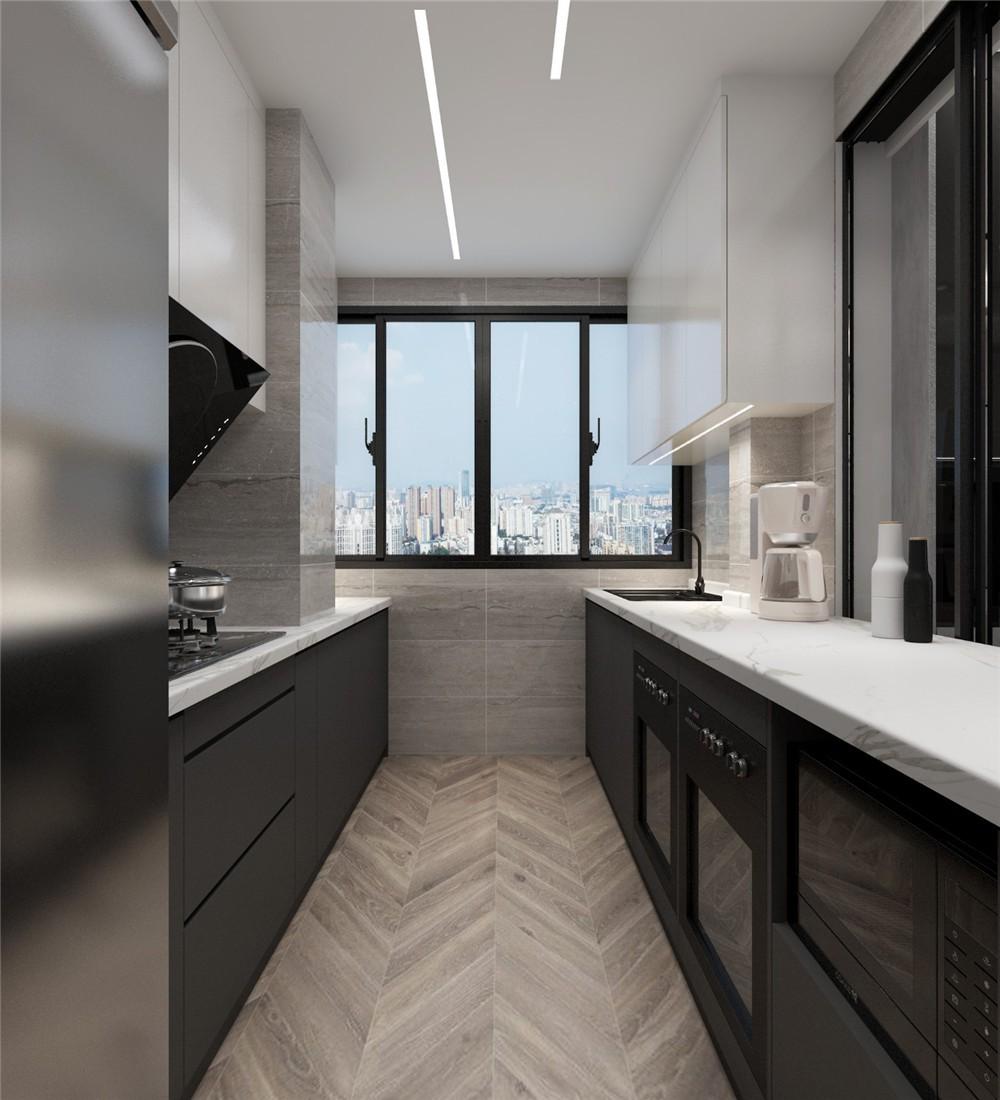 2021混搭厨房装修图 2021混搭厨房岛台效果图