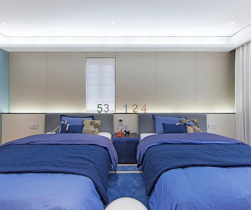 2021混搭儿童房装饰设计 2021混搭床效果图
