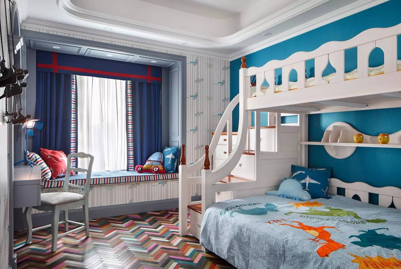 2021法式儿童房装饰设计 2021法式背景墙装修图
