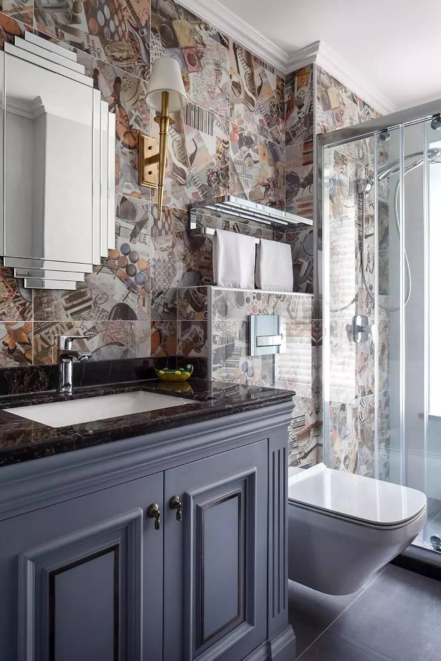 2021法式卫生间装修图片 2021法式浴室柜装修图片