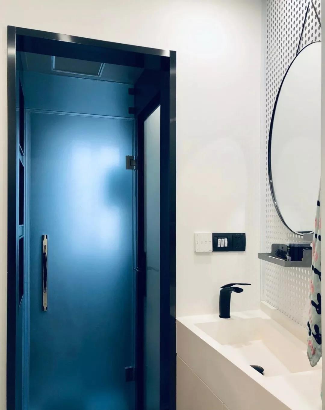 2021简欧卫生间装修图片 2021简欧推拉门设计图片