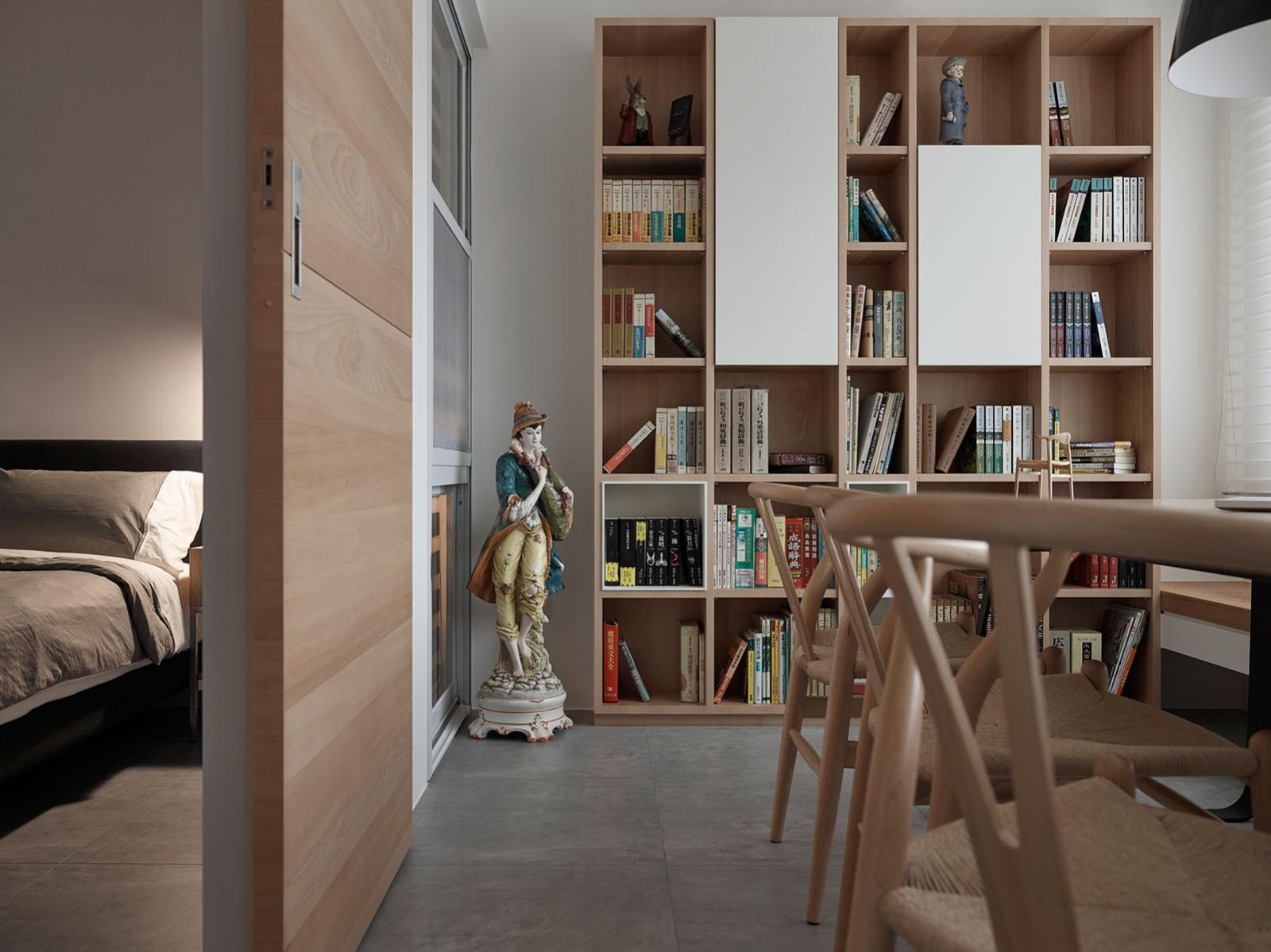 2021日式书房装修设计 2021日式书桌图片