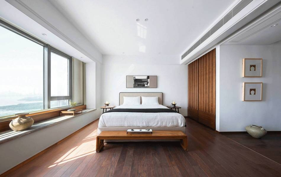 2021简中卧室装修设计图片 2021简中衣柜图片