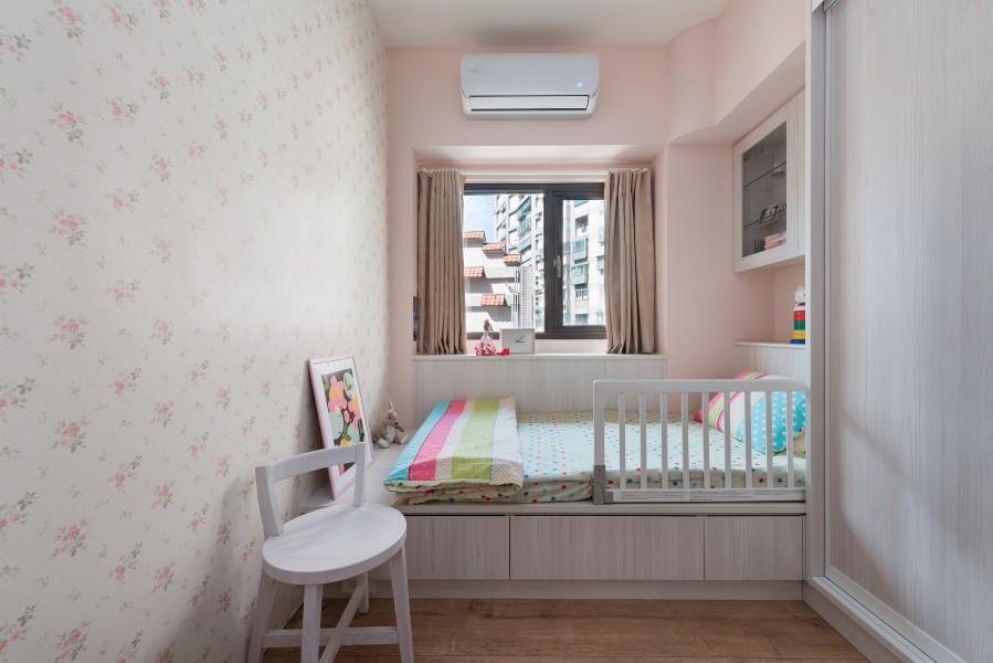 2021乡村儿童房装饰设计 2021乡村榻榻米效果图