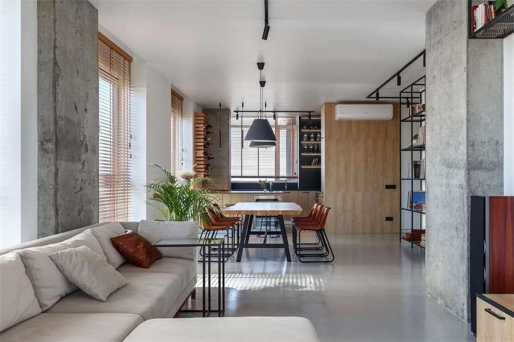 2021现代110平米装修设计 2021现代二居室装修设计