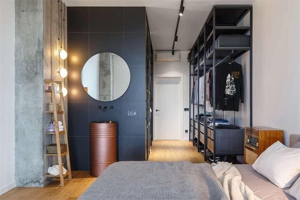 2021现代卧室装修设计图片 2021现代书架装修图片