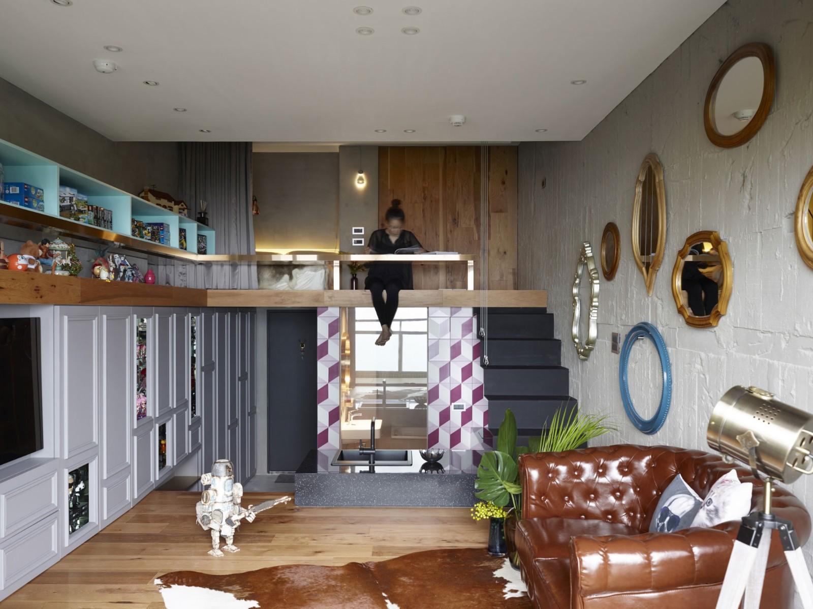 2021美式客厅装修设计 2021美式阁楼装修图