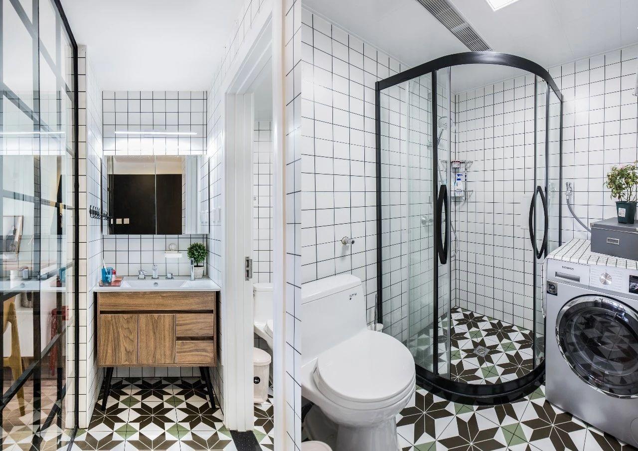 2021北欧卫生间装修图片 2021北欧浴室柜装修图片