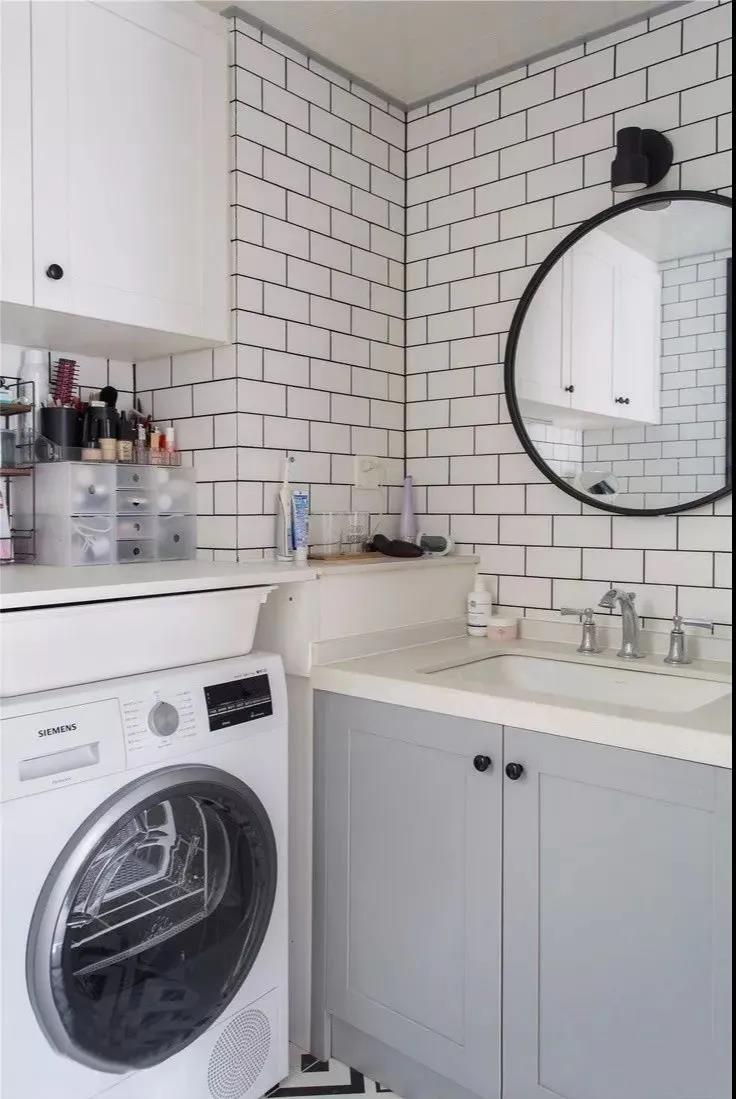 2021简欧卫生间装修图片 2021简欧浴室柜装修图片