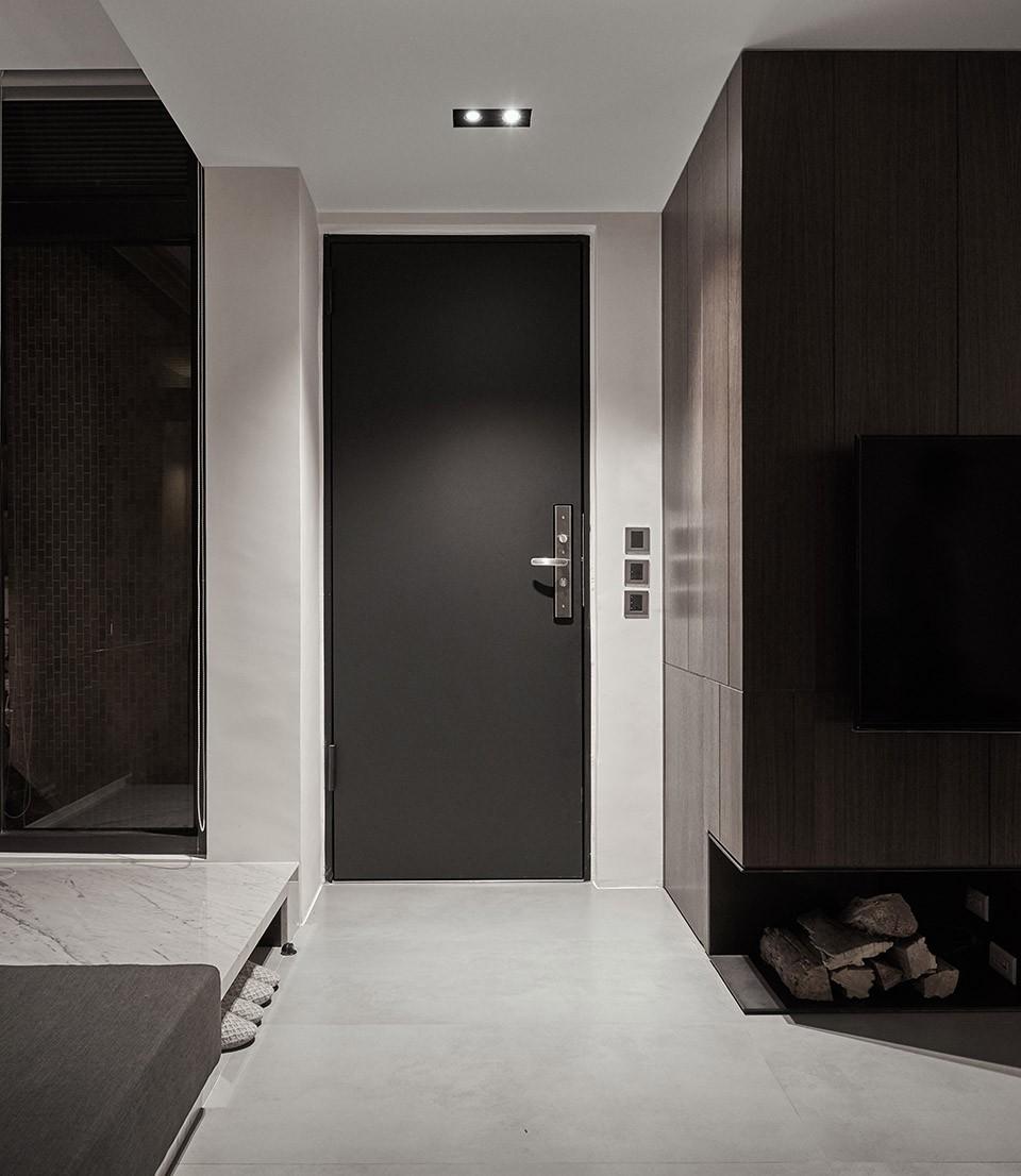 2021现代简约客厅装修设计 2021现代简约走廊装修效果图大全