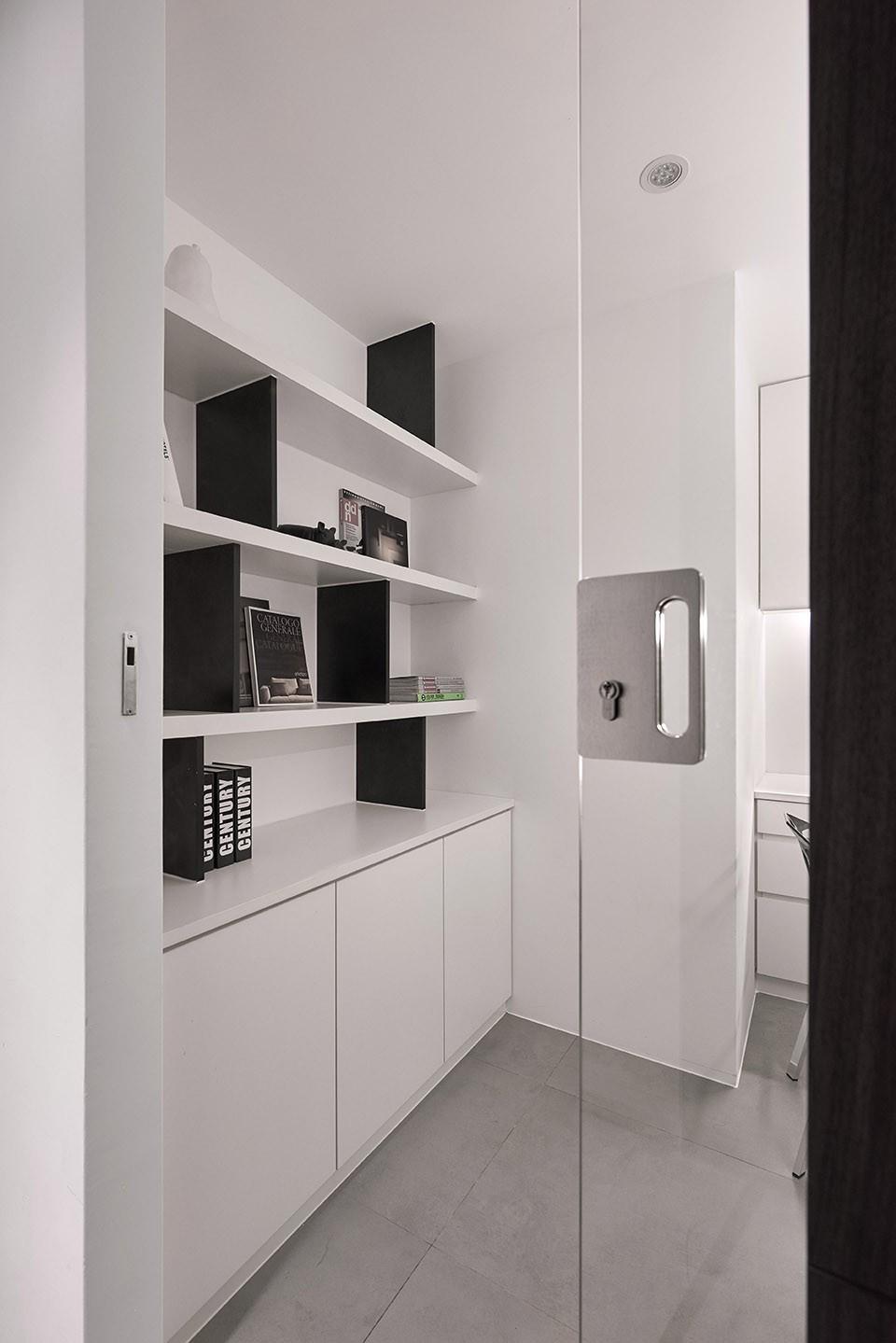 2021现代简约书房装修设计 2021现代简约走廊装修效果图大全