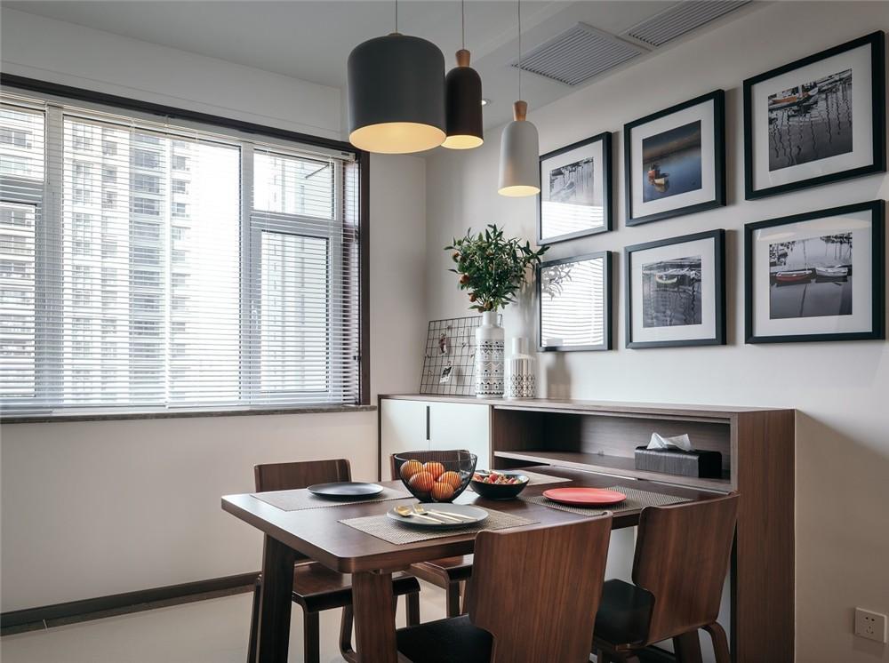 2021现代简约书房装修设计 2021现代简约照片墙效果图