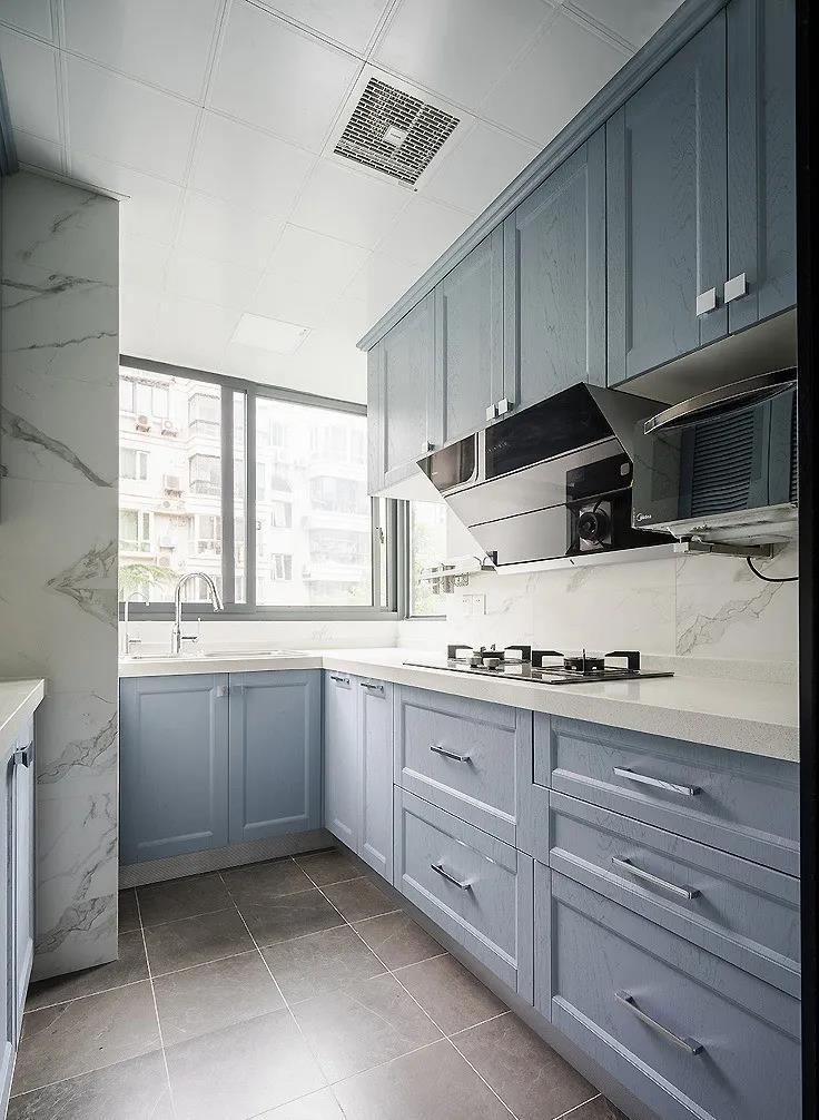 2021美式厨房装修图 2021美式灶台装修图片