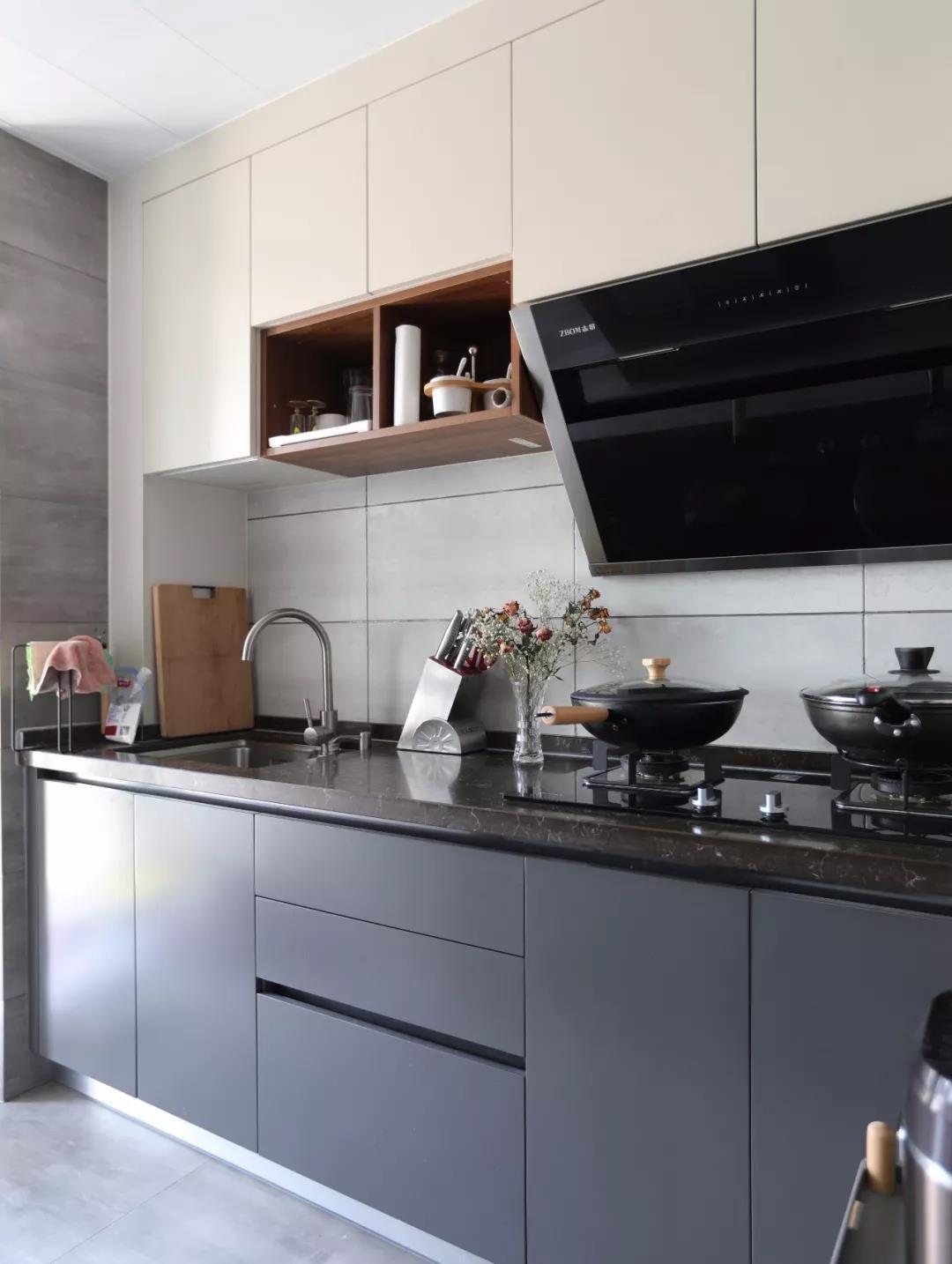 2021中式厨房装修图 2021中式灶台装修图片
