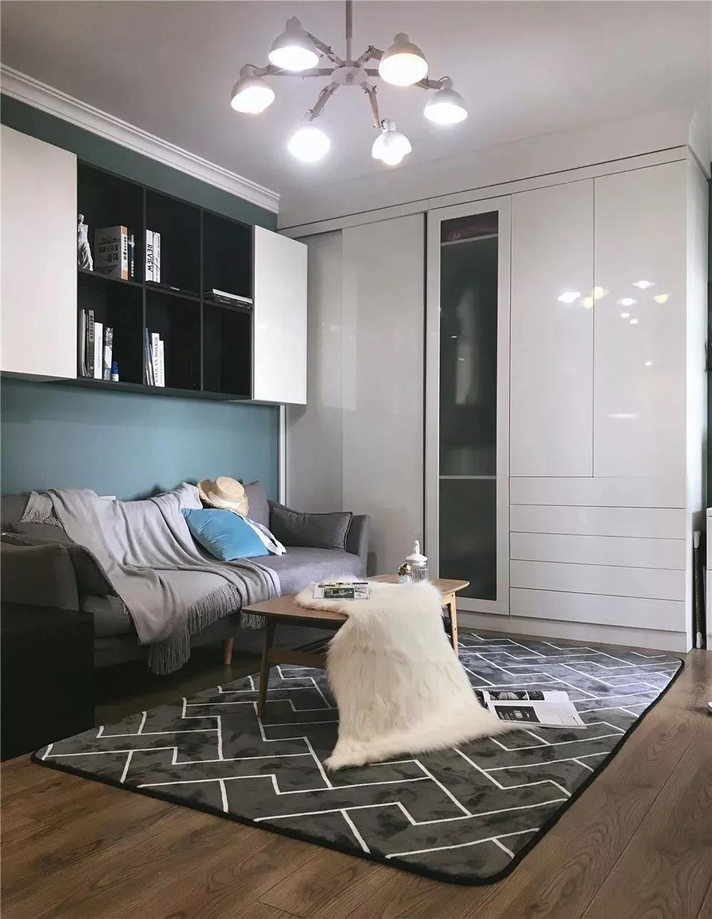 2室1卫1厅66平米现代风格