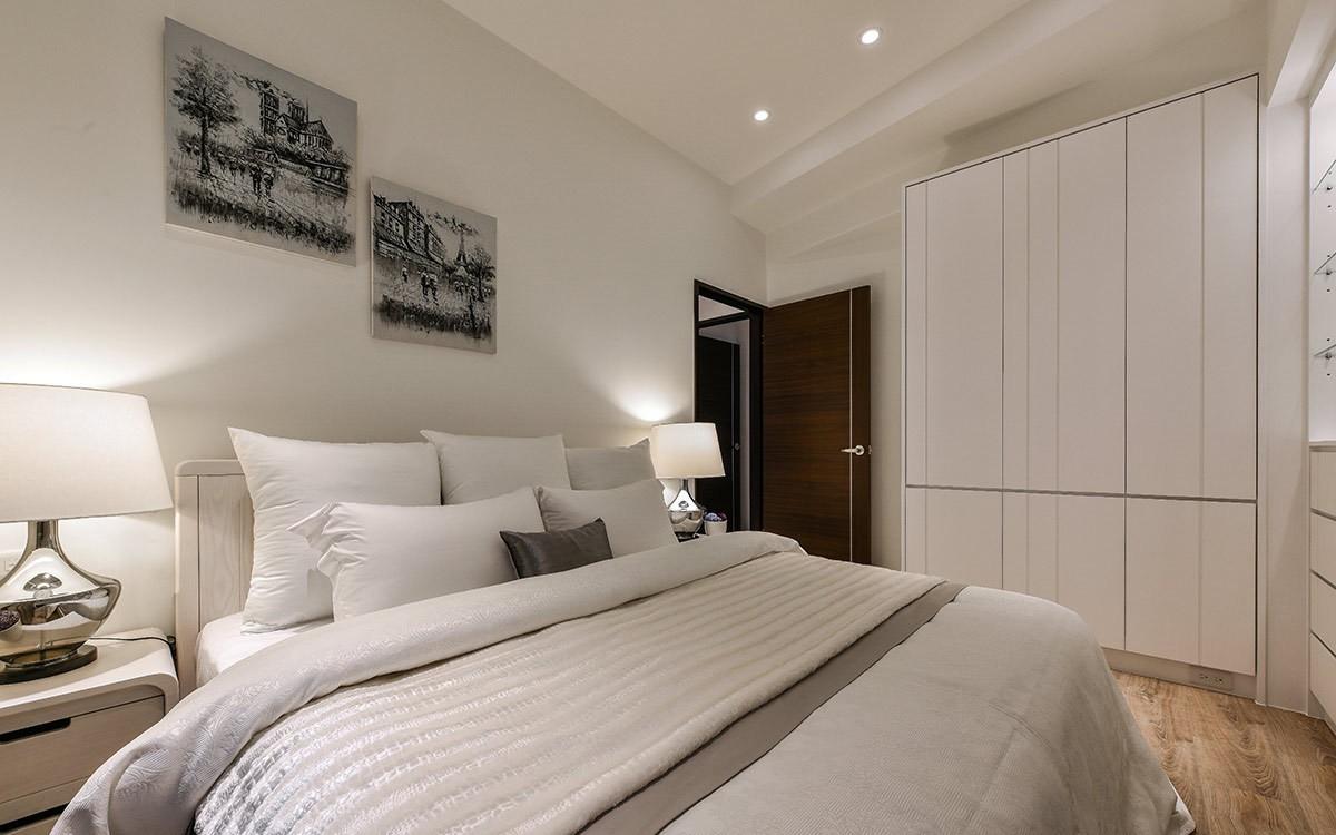 2021现代卧室装修设计图片 2021现代衣柜装修效果图片