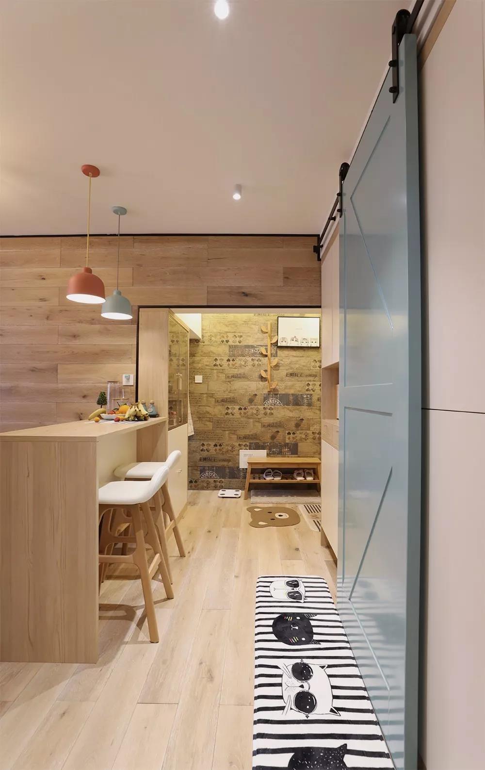 2室1卫2厅50平米北欧风格
