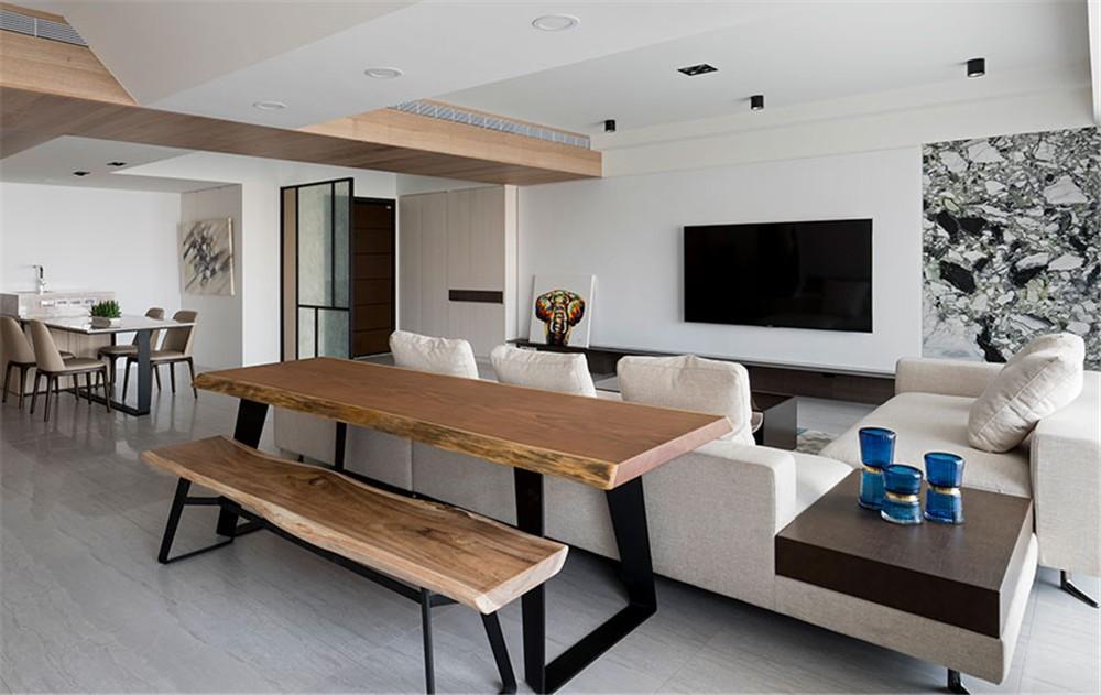 2021现代客厅装修设计 2021现代吧台装饰设计