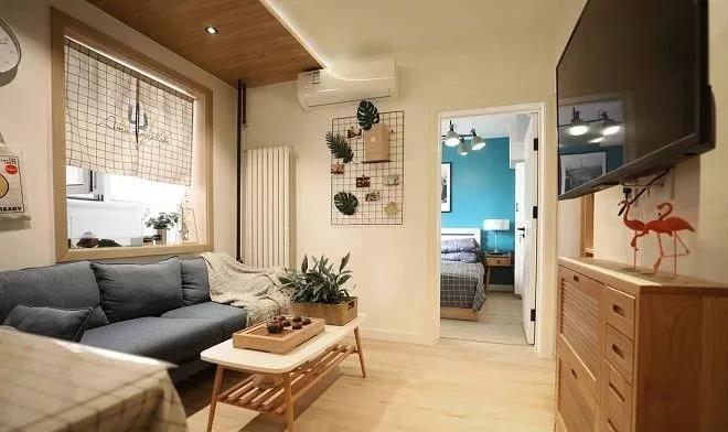 2室1卫2厅65平米简单风格