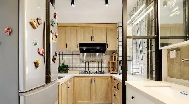 2021简单厨房装修图 2021简单灶台装修图片