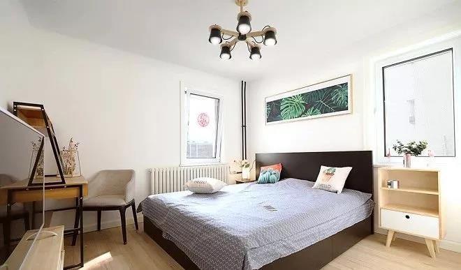 2021简单卧室装修设计图片 2021简单床图片