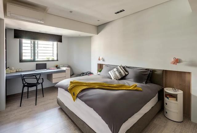2021简约卧室装修设计图片 2021简约书桌装修图