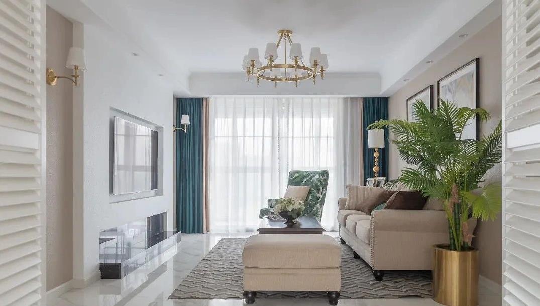 151㎡的四居室,莫蘭迪色+輕奢元素打造輕盈優雅的暖心之家!