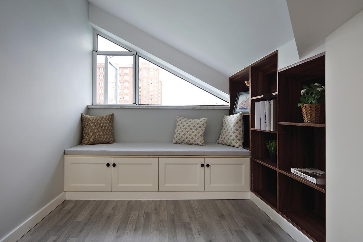 2021现代书房装修设计 2021现代走廊装修效果图大全